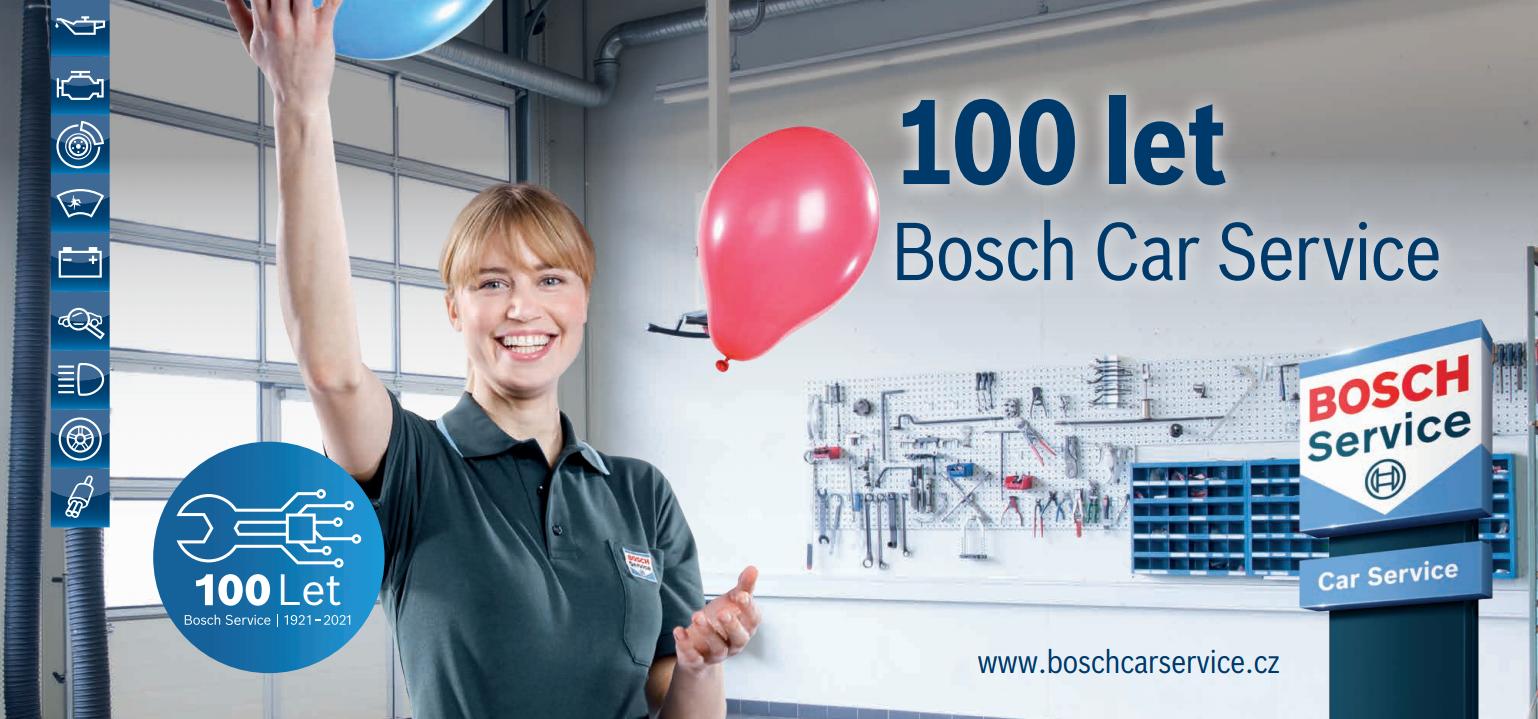 V letošním roce slaví stoleté výročí největší nezávislá síť autoservisů Bosch Car Service.