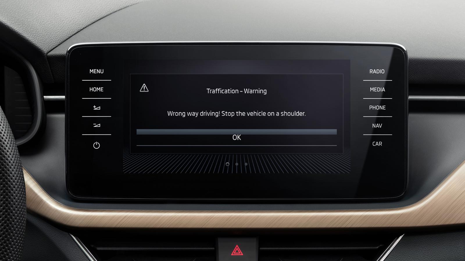 Systém varujúci vodiča v jazde v zlom smere je teraz súčasťou vozidiel značky ŠKODA