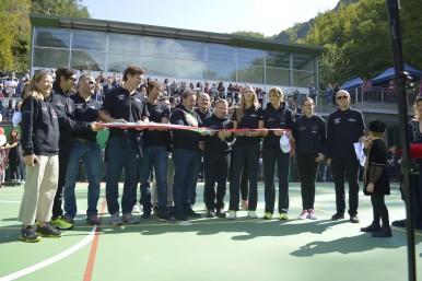Solidarietà dei collaboratori Bosch: Bosch inaugura il Playground ad Acquasanta Terme