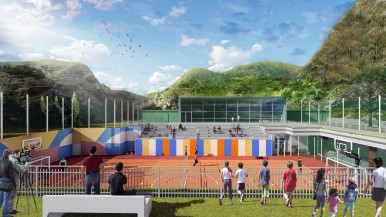 Bosch inaugura il Playground ad Acquasanta Terme