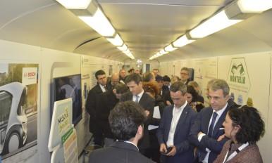 Bosch a bordo del Treno Verde di Legambiente e Ferrovie dello Stato Italianei
