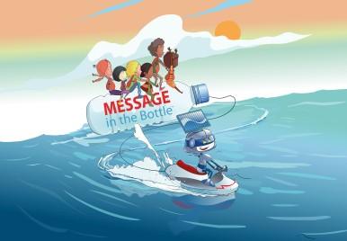 """Premiazione gara creativa """"Message in the Bottle"""": Missione Ambiente by Bosch - 8° edizione"""