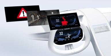 Bosch riconfigura l'abitacolo del veicolo