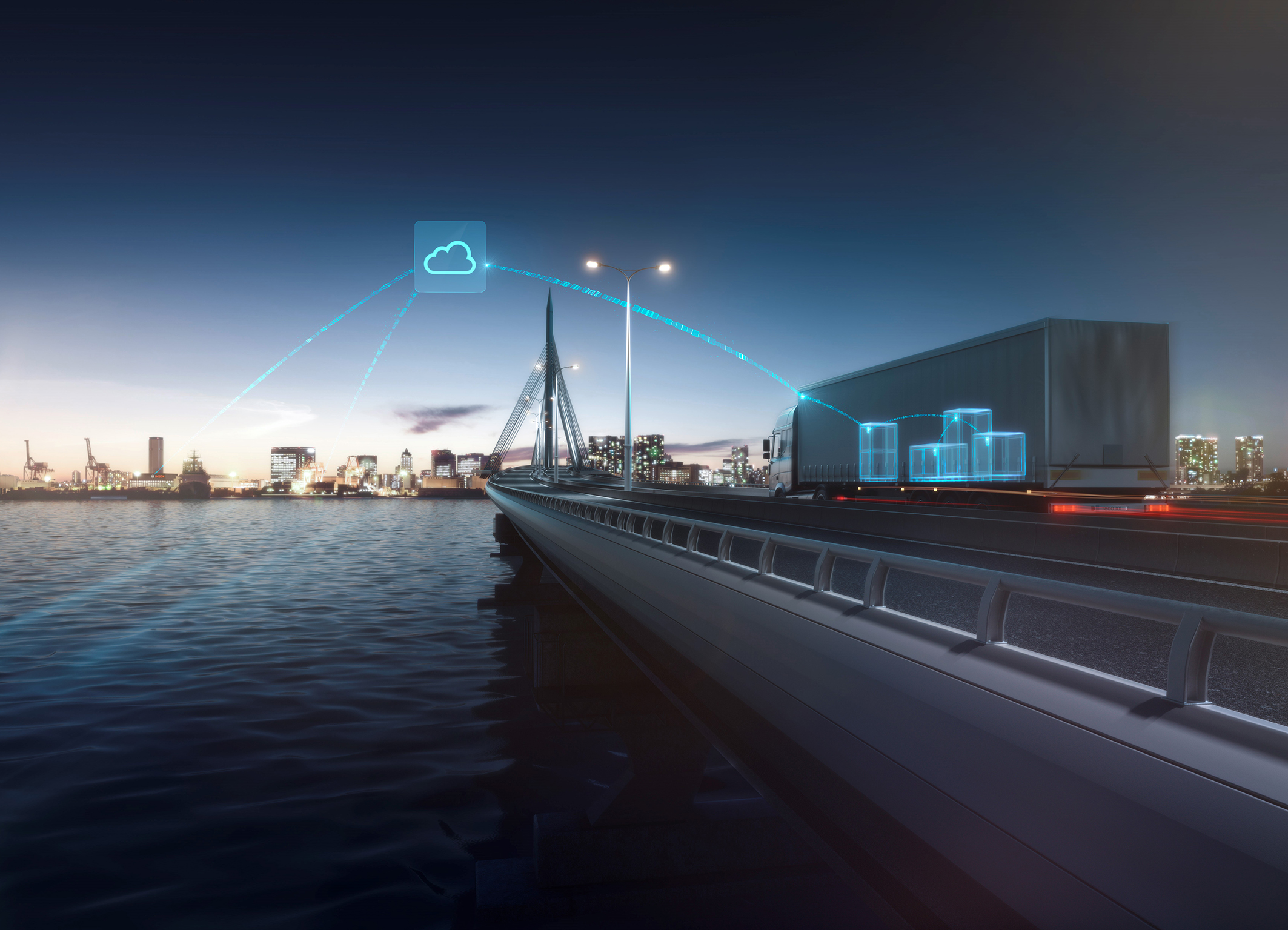 Transport Data Logger di Bosch