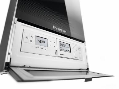 Design con vetro titanio - Buderus presenta Logamax plus GB172i