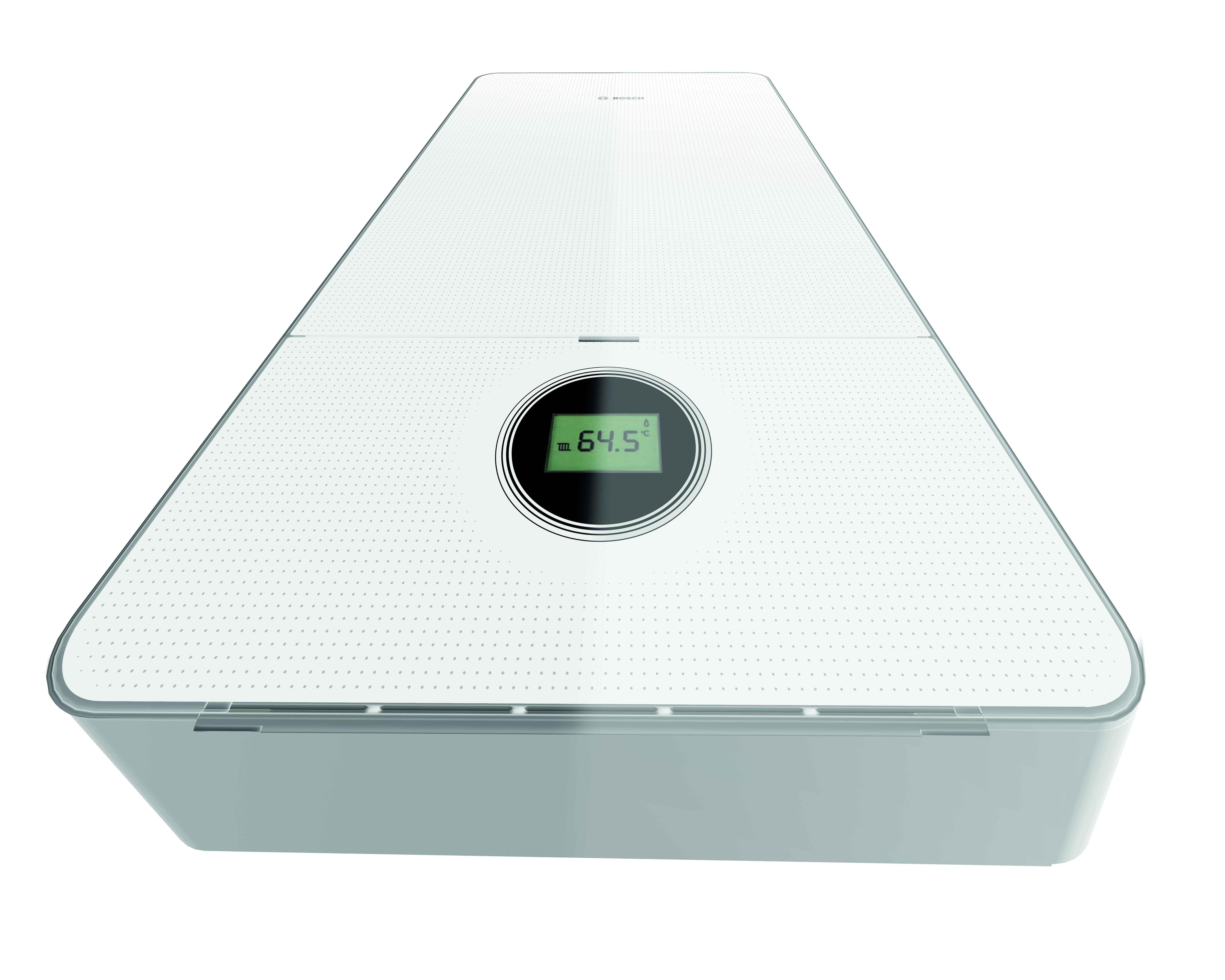 Design con vetro titanio: Bosch presenta Condens 7000i W