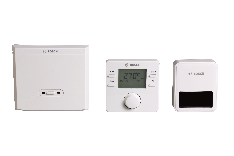 Massimo comfort con i prodotti Bosch per la termoregolazione in radiofrequenza