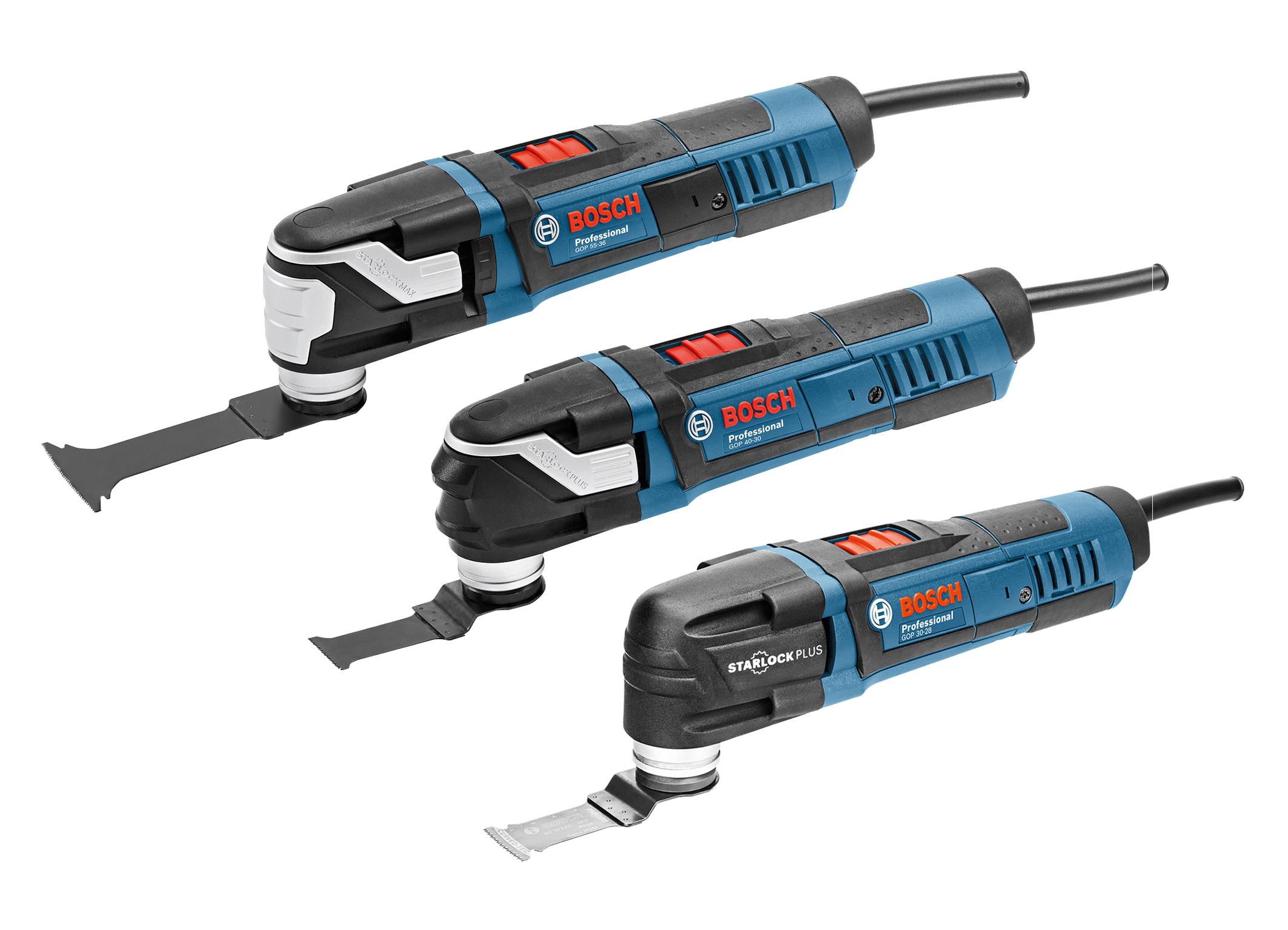 Bosch Professional e Bosch Hobby - Nuovi utensili multifunzione