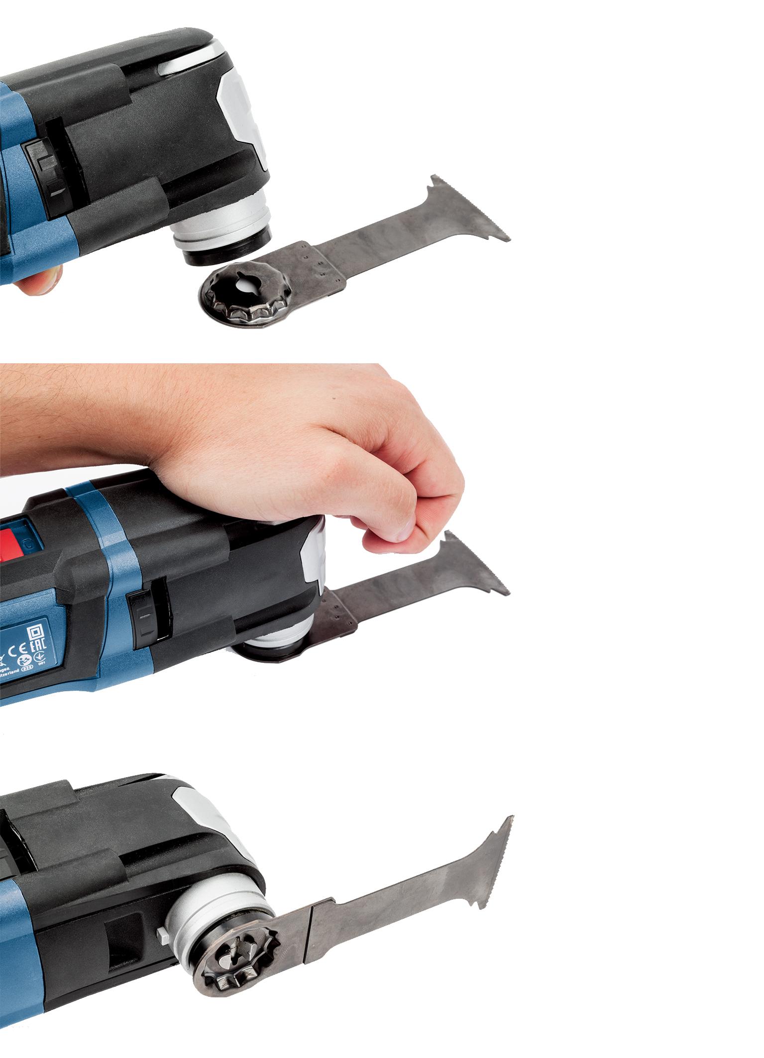 Sistema Starlock per utensili multifunzione Bosch Professional