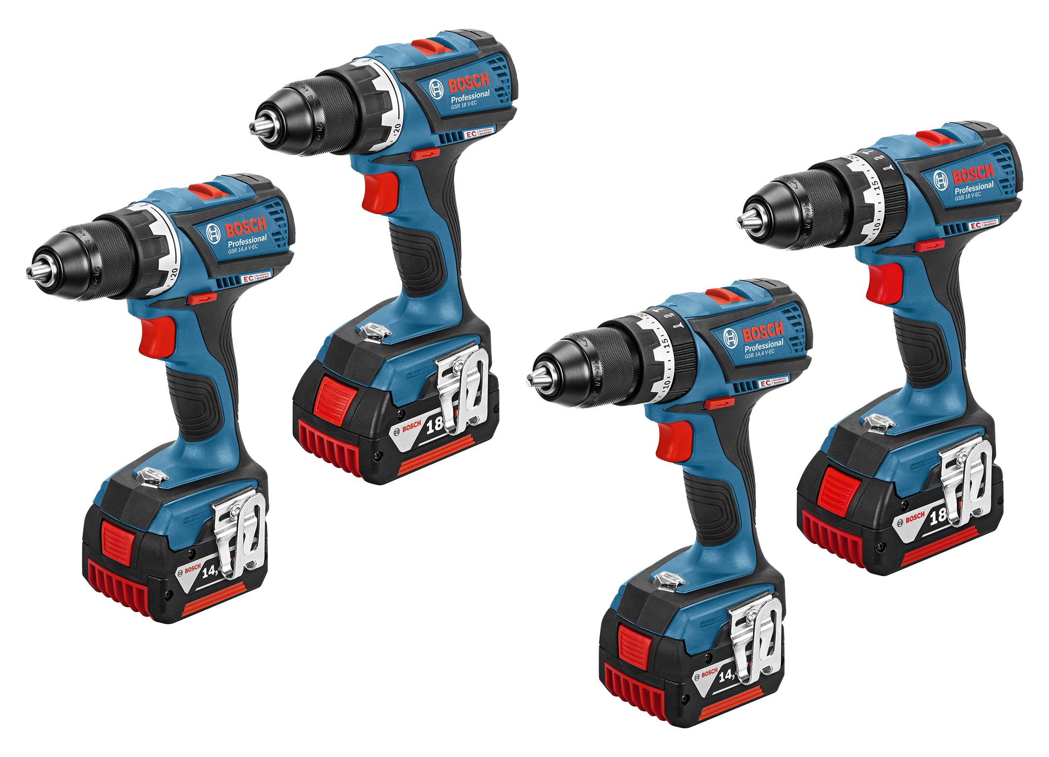 La nuova generazione di avvitatori a batteria Bosch Professional