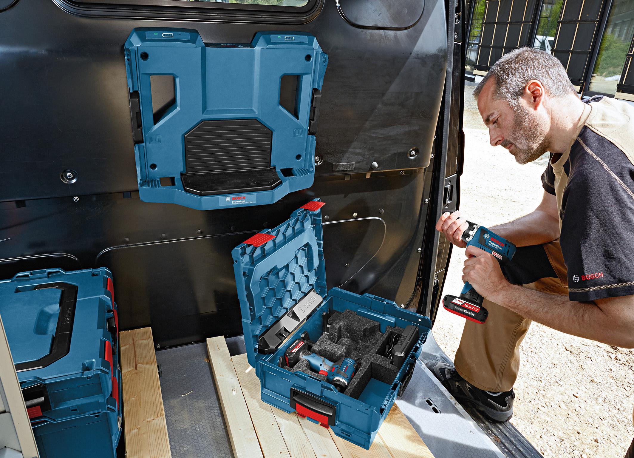 Batterie «Wireless Charging» Bosch da 10,8 Volt