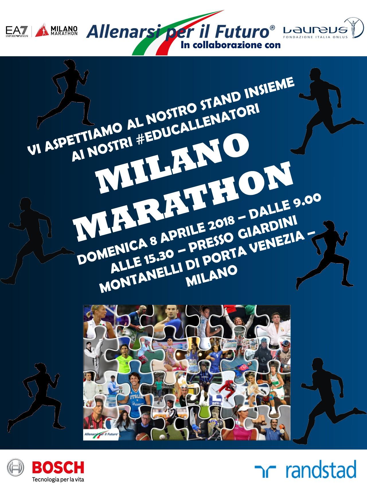 Bosch corre alla Milano Marathon, Allenarsi per il Futuro sostiene ONLUS Laureus