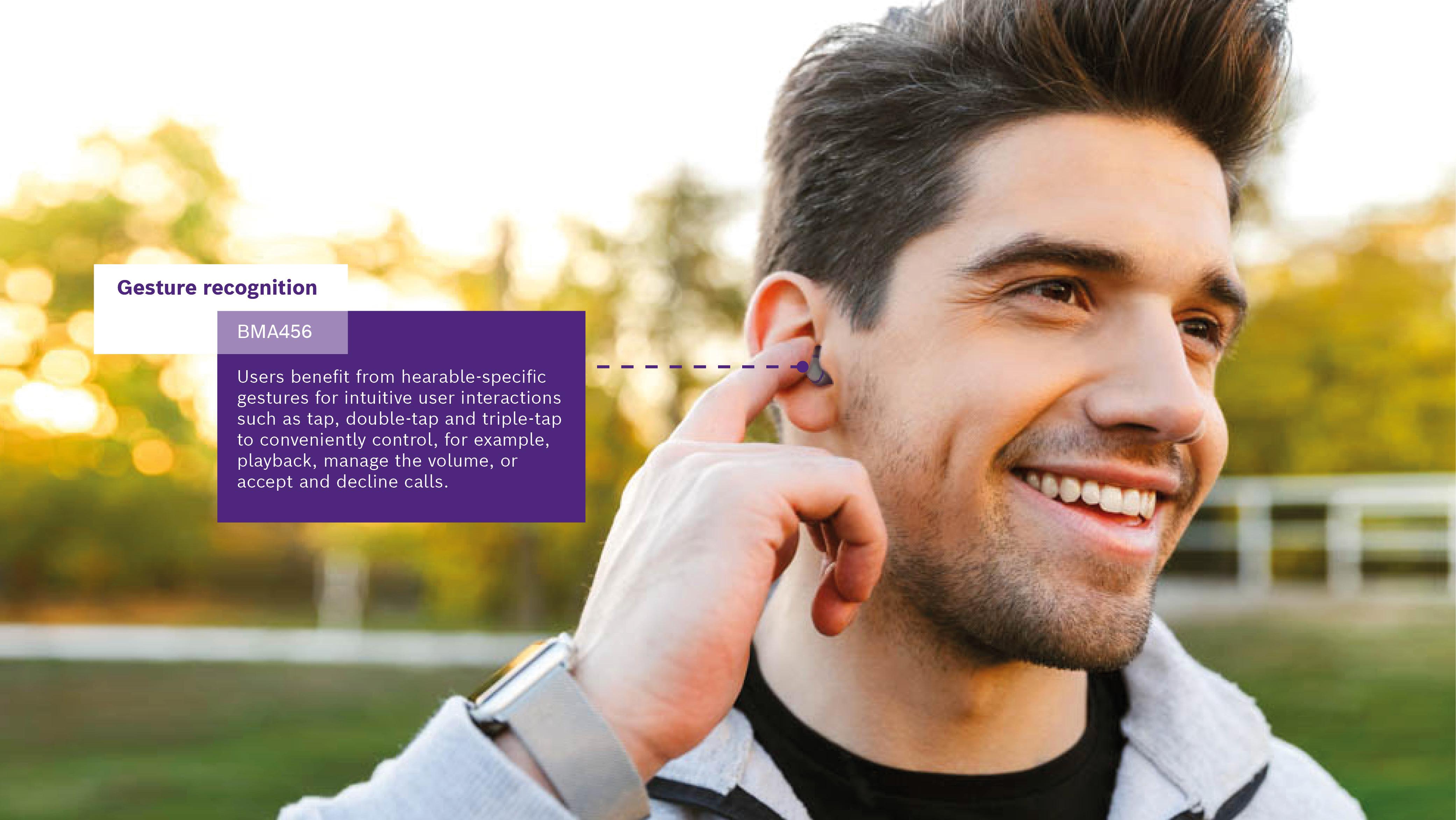 Hearable: Bosch porta le funzionalità smart a portata di orecchio
