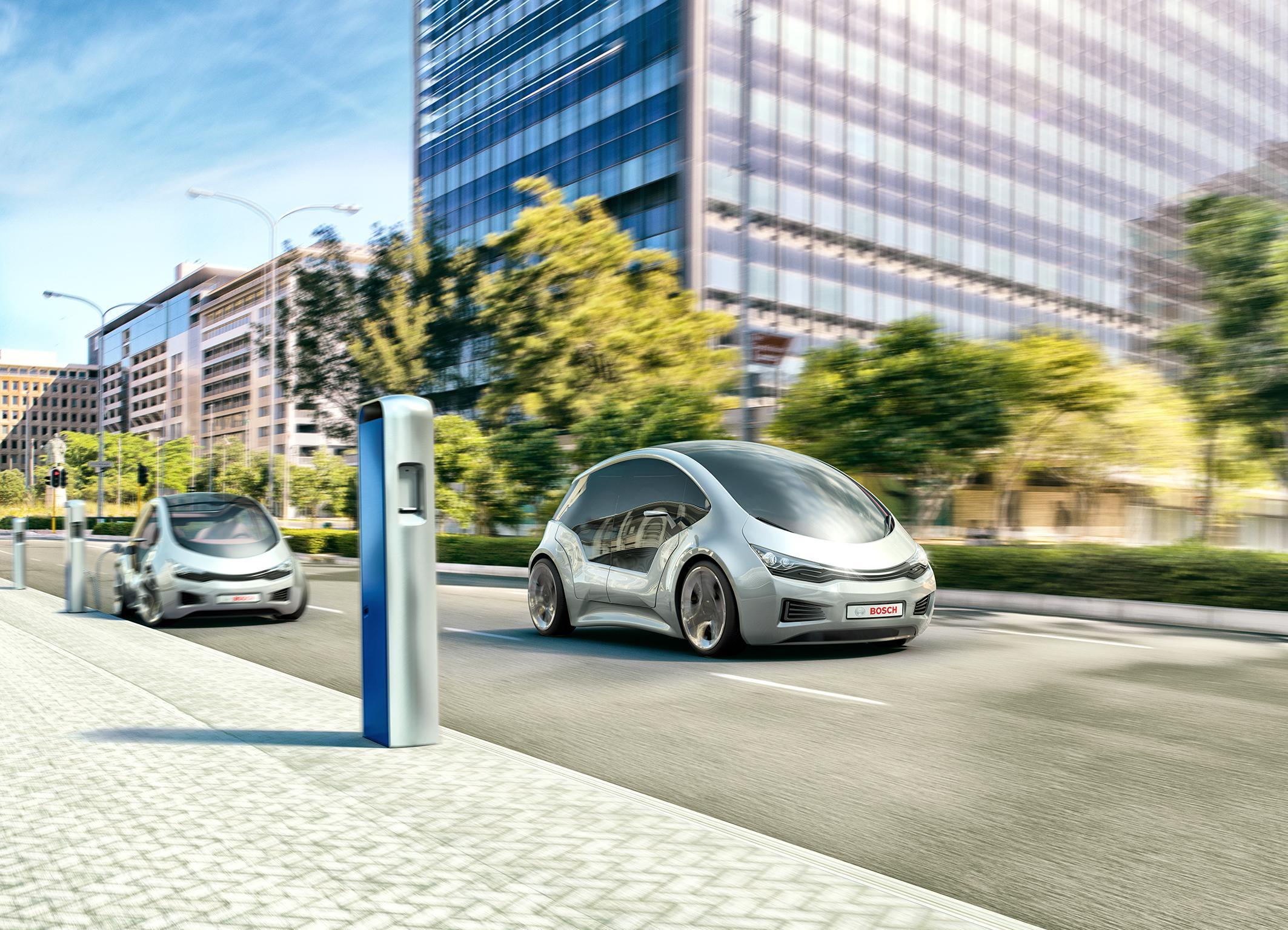 Bosch si impegna a dar forma alla mobilità del futuro offrendo soluzioni attente all'ambiente
