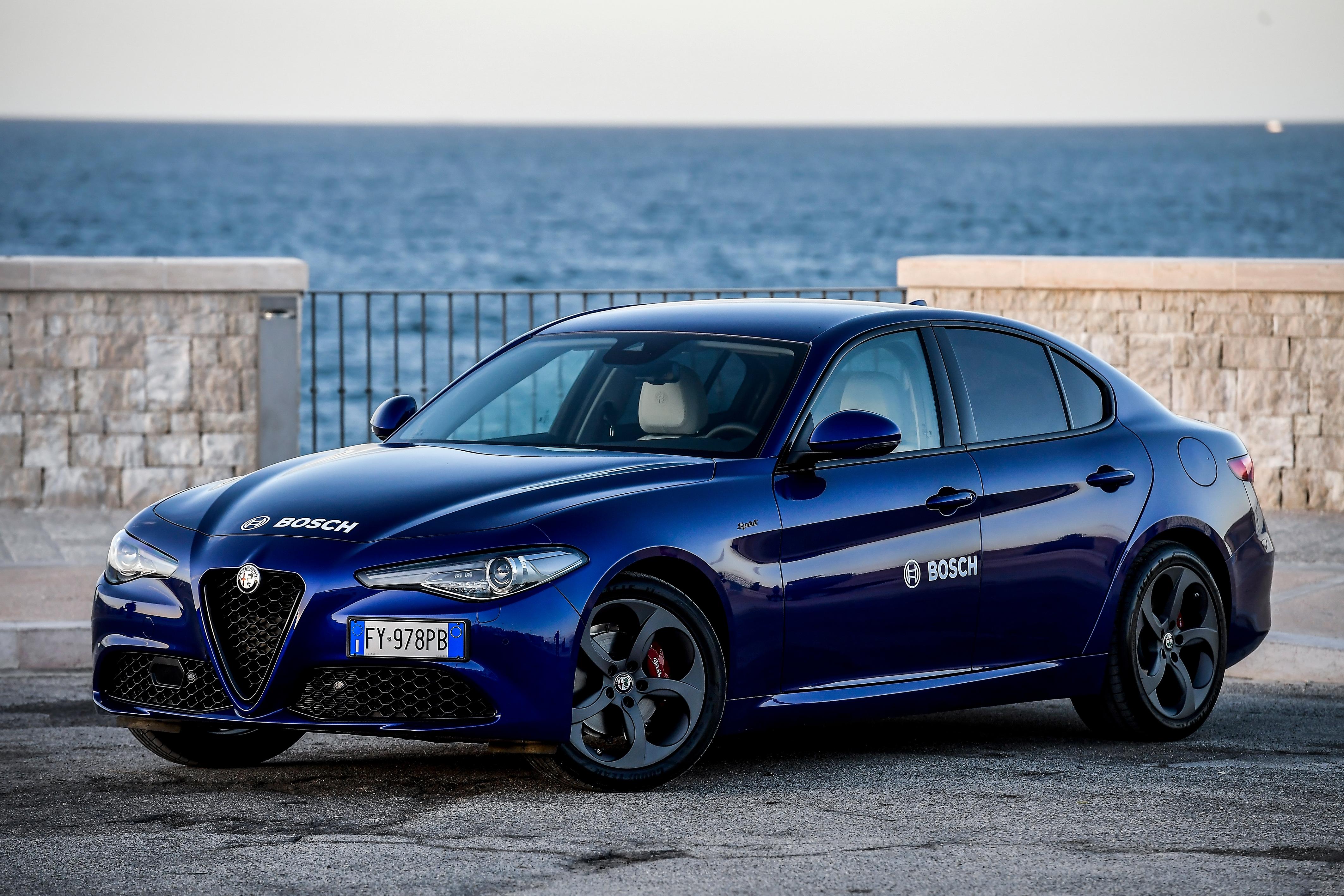 Bosch e Alfa Romeo: sicurezza e comfort  ai massimi livelli