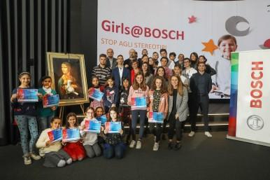 Conclusa la prima edizione di Girls@Bosch