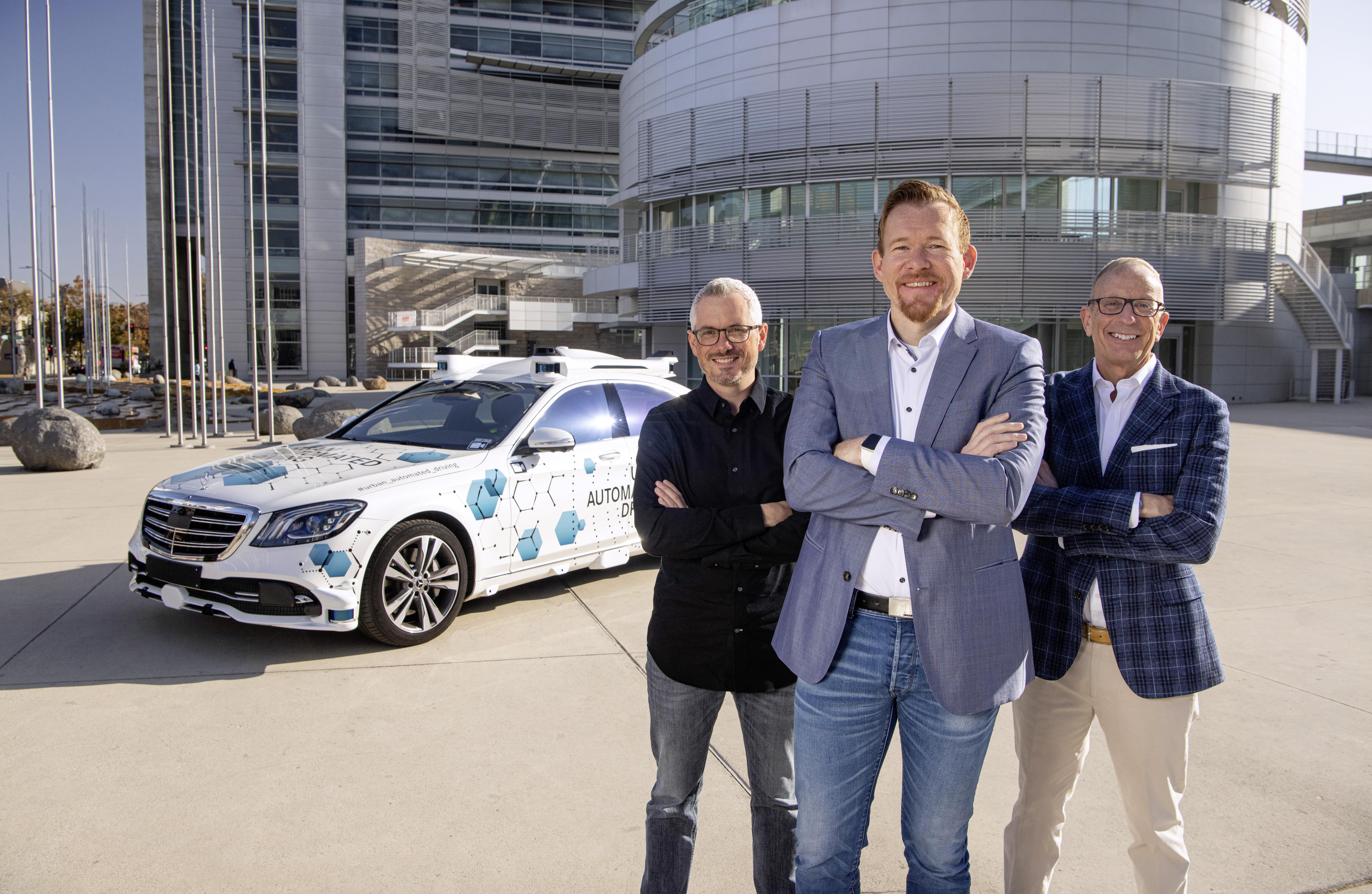 Bosch e Mercedes-Benz avviano a San José il progetto pilota per il servizio di ride-hailing a guida autonoma