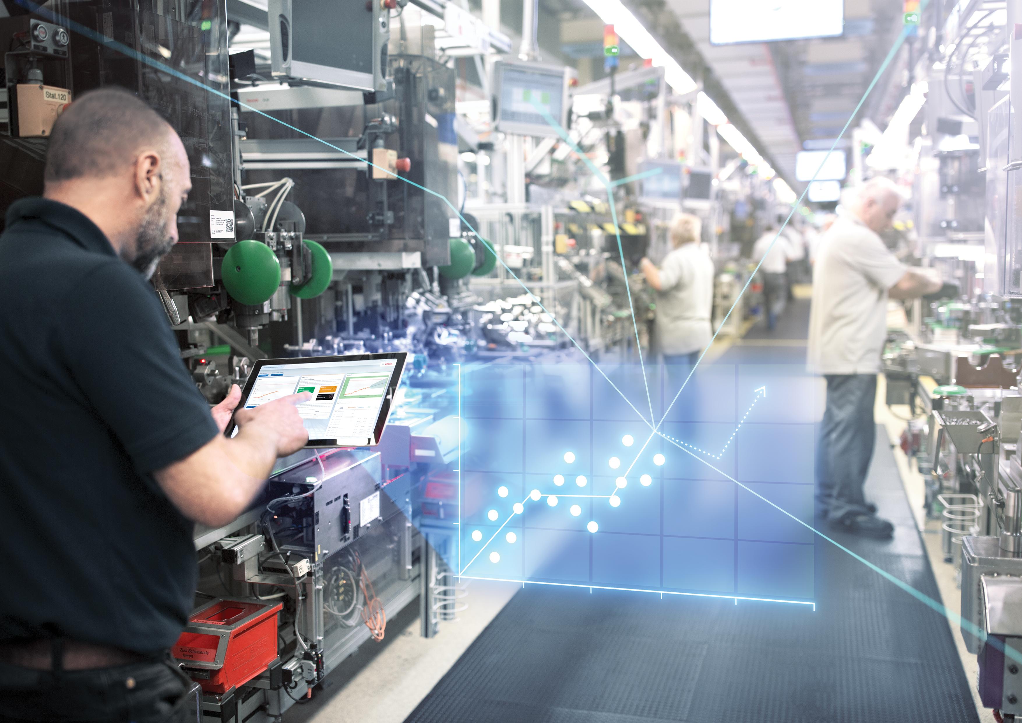 Bosch rende le fabbriche smart