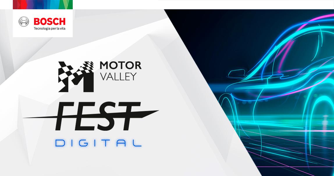 Motor Valley Fest Digital: Bosch si racconta in diretta streaming