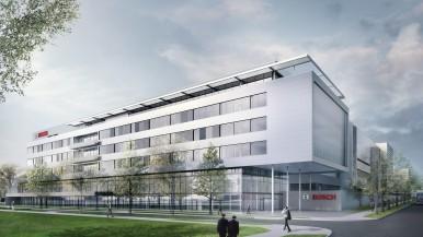 Bosch posa la prima pietra della fabbrica del futuro