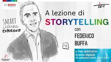 A lezione di storytelling con Federico Buffa
