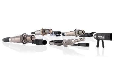 I sensori di temperatura dei gas di scarico e i sensori di ossido di azoto arricchiscono l'offerta delle officine Bosch