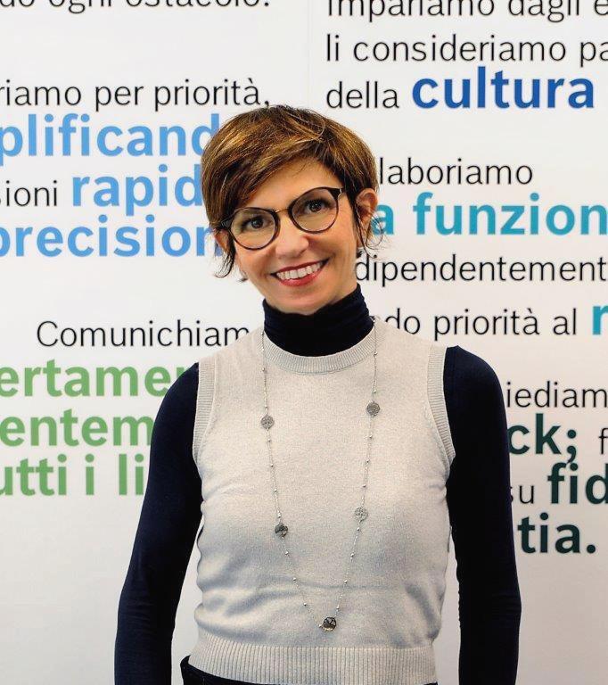 Sabrina Castellan, Training, Recruiting & Development Director Bosch Group Italy