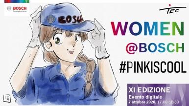 women@bosch: il progetto dedicato alle studentesse universitarie diventa digitale