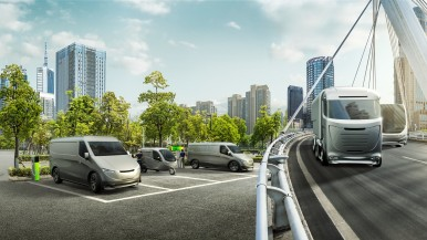 Orașe, țări, autostrăzi: Bosch deschide calea pentru transportul cu emisii zero