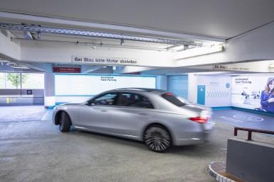 Tutto pronto all'aeroporto di Stoccarda per il sistema di parcheggio completamente autonomo