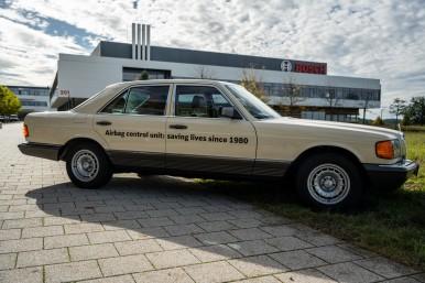 L'innovazione nella protezione passeggeri:  40 anni fa Bosch lanciava la central ...