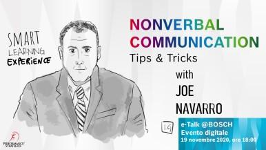 Joe Navarro svela i segreti della comunicazione non verbale