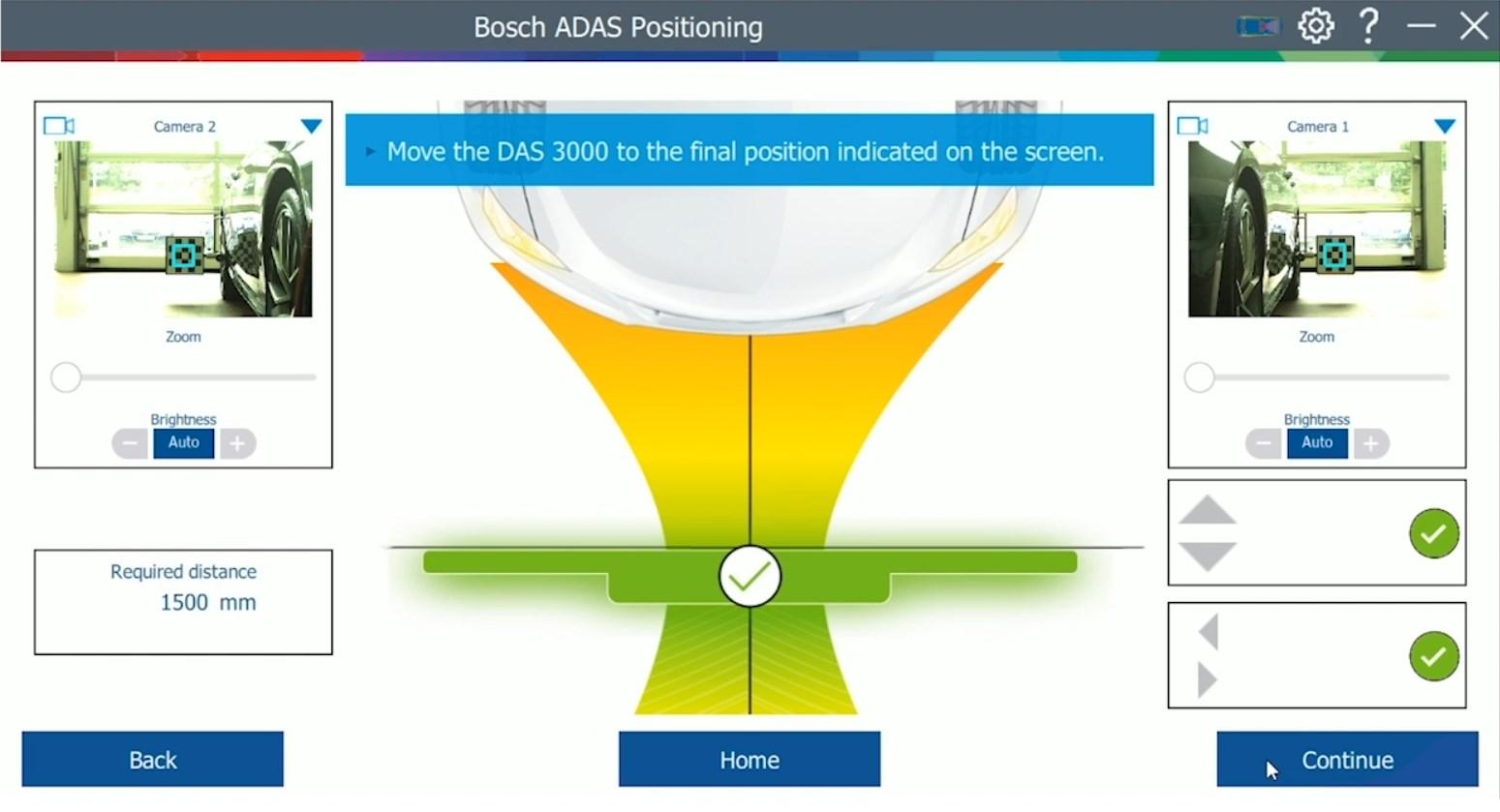 Il nuovo dispositivo di calibrazione Bosch DAS 3000 per i sistemi di assistenza alla guida (ADAS)