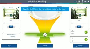Il nuovo dispositivo di calibrazione Bosch DAS 3000 per i sistemi di assistenza  ...