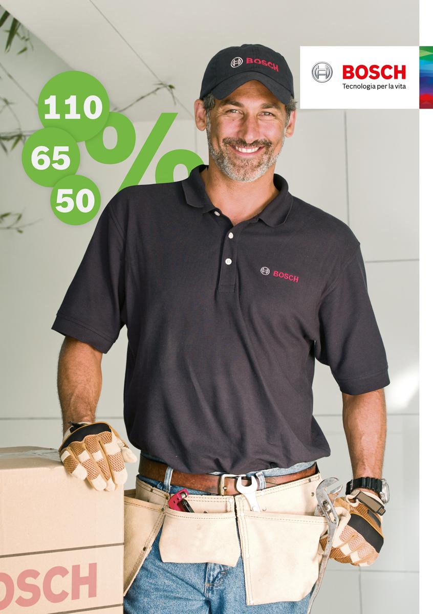 Ecobonus, sconto in fattura e cessione del credito: con Bosch, massima efficienza e convenienza