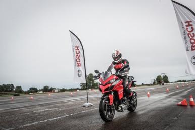 Bosch e Ducati: la partnership all'insegna della sicurezza continua anche al World Ducati Week (WDW) 2018