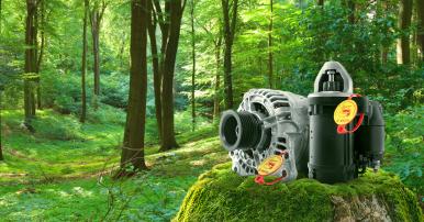 Fai la tua parte e proteggi l'ambiente con i ricambi Bosch eXchange