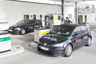 Bosch, Shell e Volkswagen ottengono benzina da fonti rinnovabili con il 20% in m ...