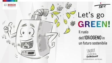 """""""Let's go GREEN!"""": l'idrogeno per raggiungere la neutralità climatica"""