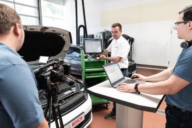 Bosch Automotive Aftermarket - Nuovo programma di formazione digitale per le officine