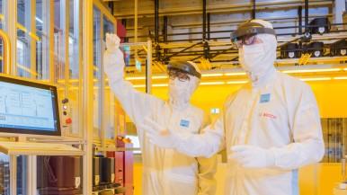 Bosch apre la fabbrica di wafer del futuro a Dresda