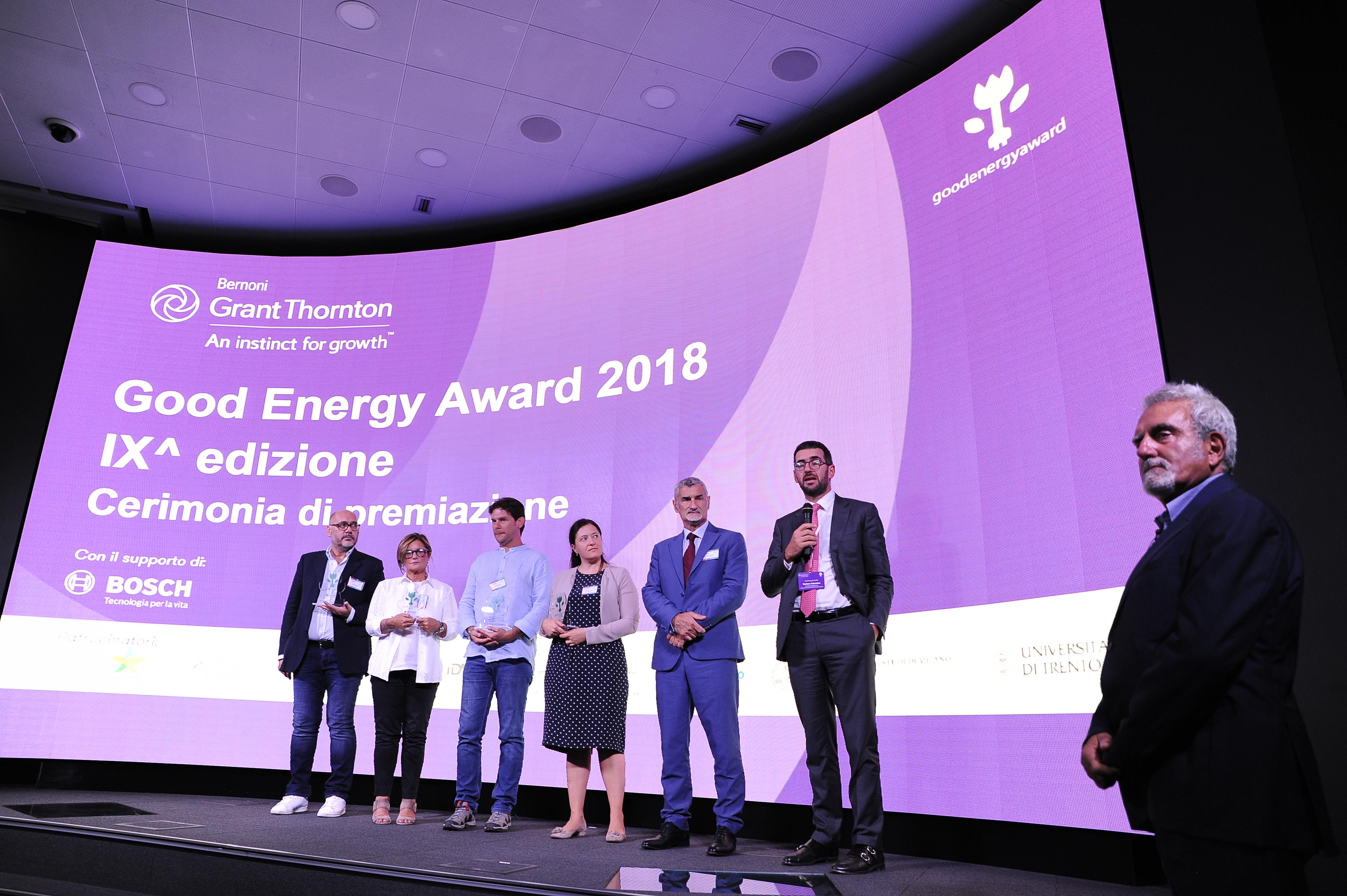 Good Energy Award 2018