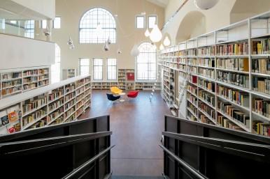 La biblioteca Beghi di La Spezia protetta con Bosch