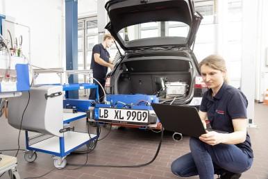 Bosch apre nuove strade nei settori della mobilità e della protezione ambientale;Una vera svolta: la nuova tecnologia diesel di Bosch fornisce una soluzione al problema degli ossidi d'azoto