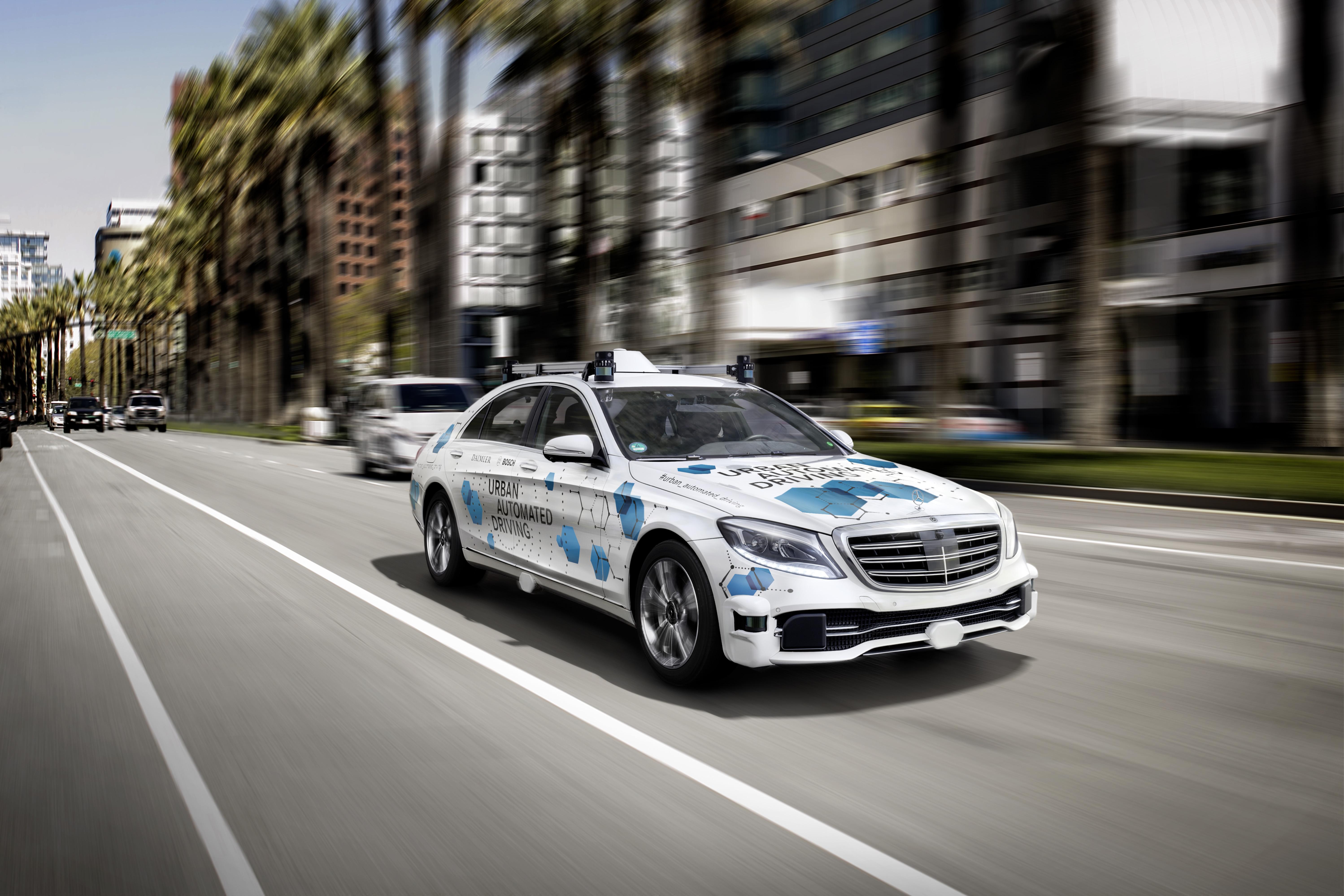 Bosch e Daimler: San José scelta come città pilota per il servizio di ride-hailing on demand a guida autonoma