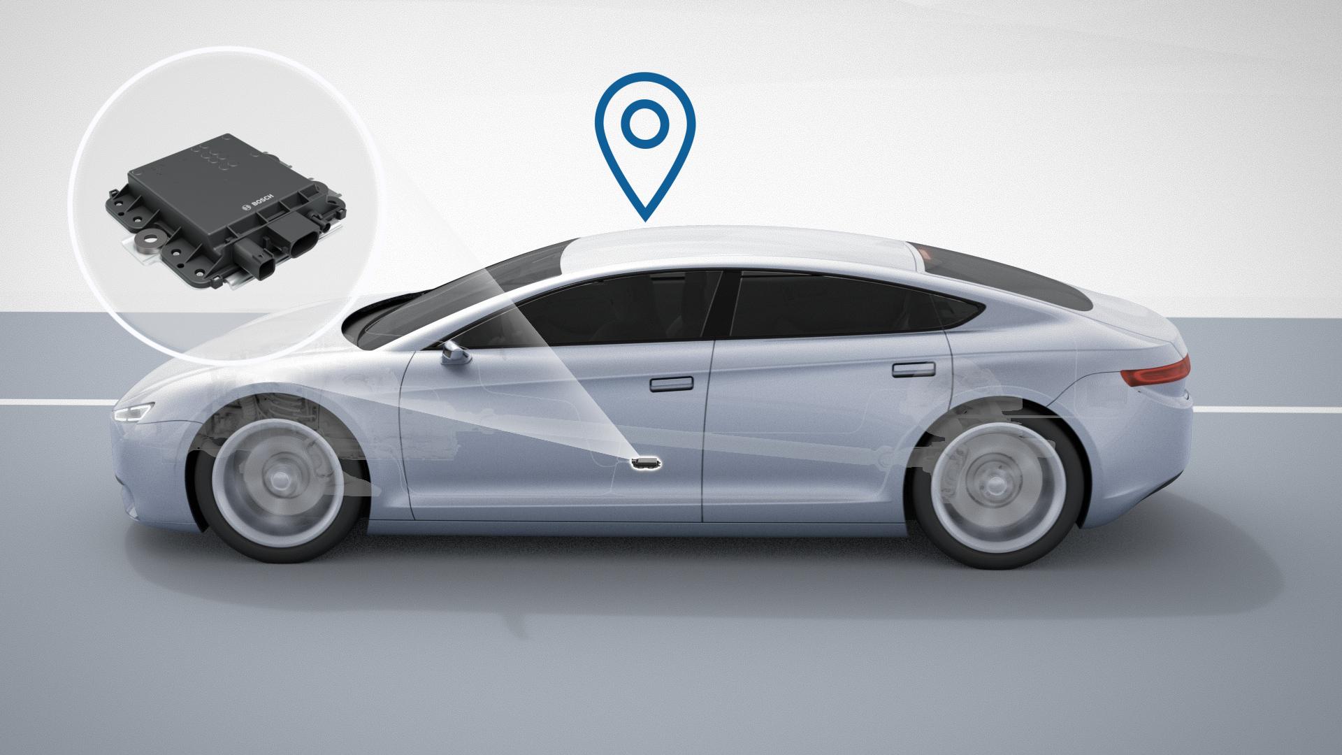 Guida autonoma sicura con Bosch:  la differenza è nei centimetri