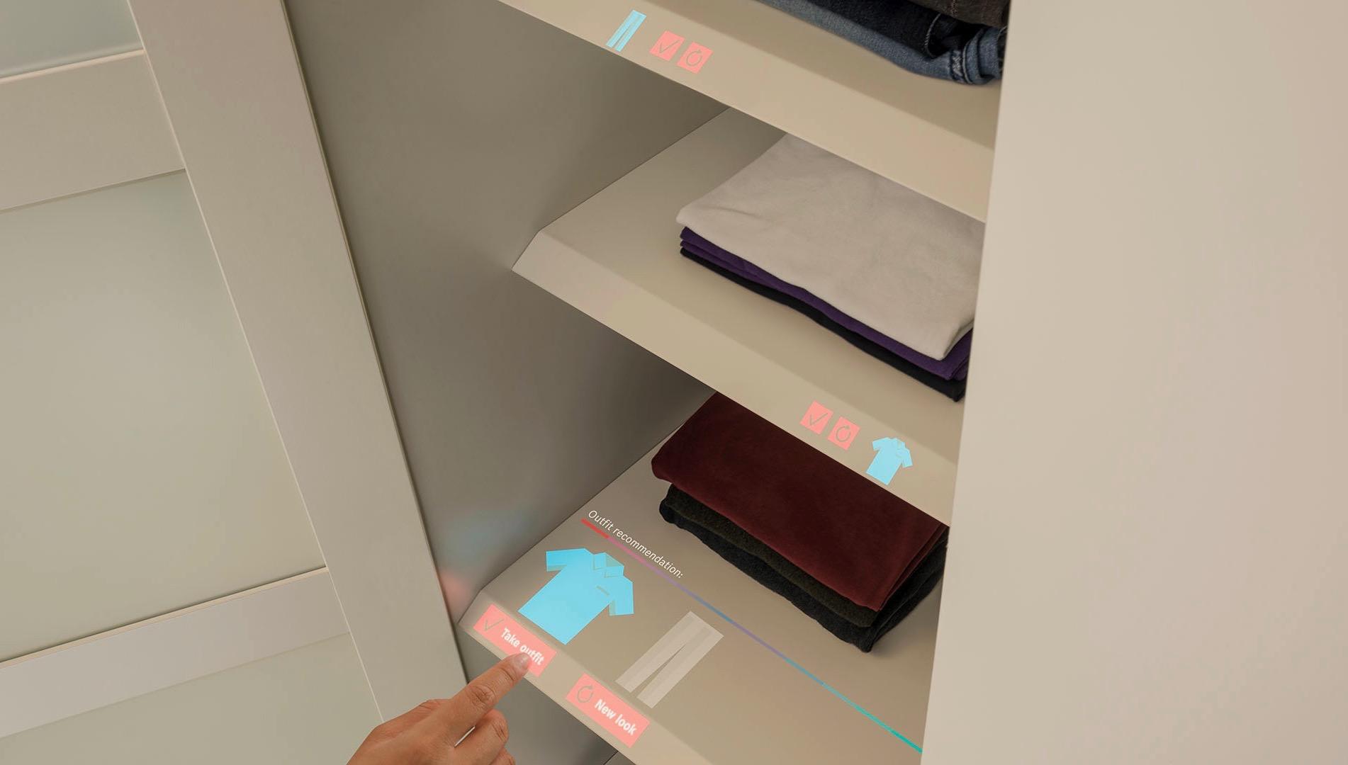 Bosch lancia il touchscreen virtuale su ogni superficie per la domotica e l'IoT