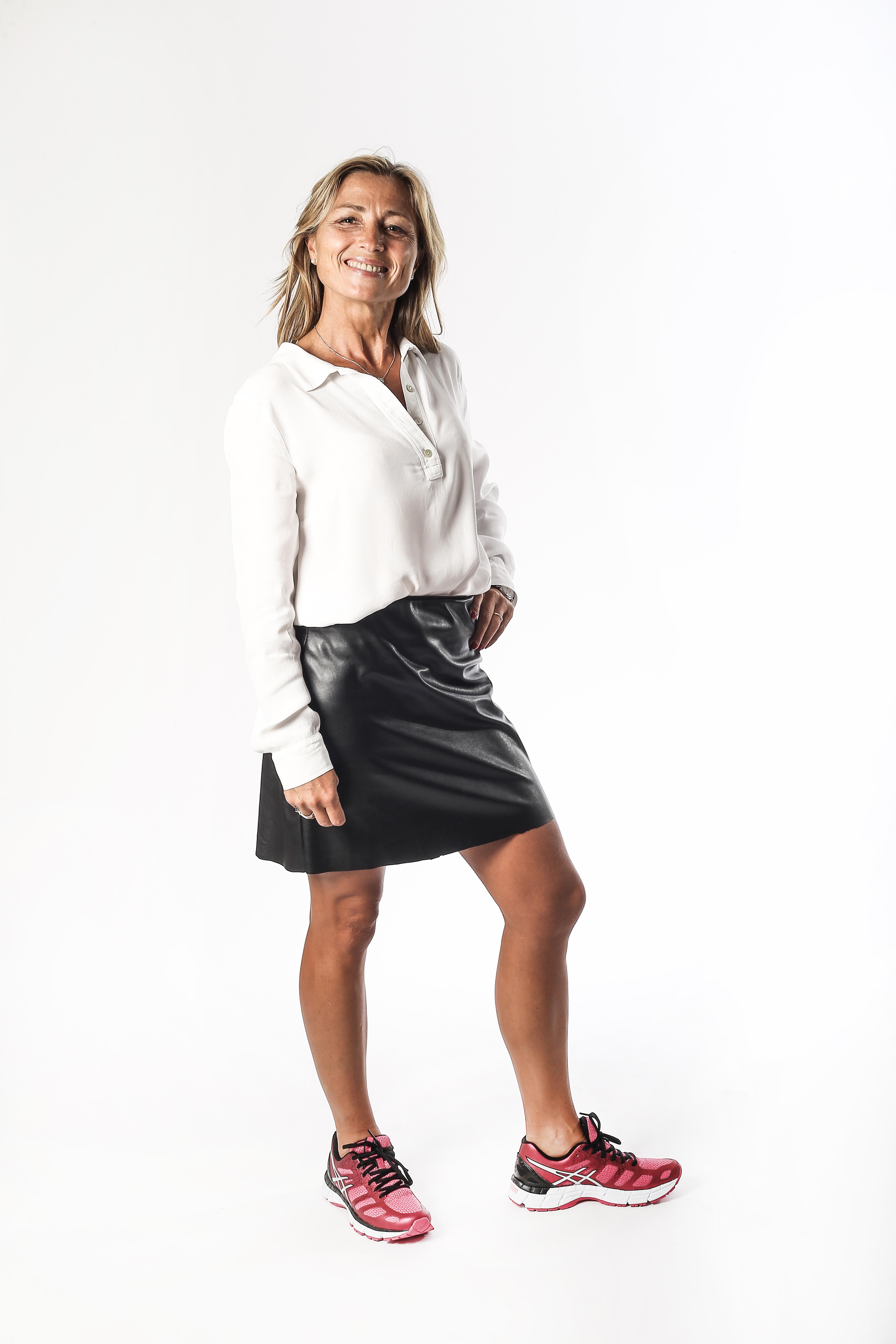 Ivana Di Martino, ultramaratoneta e testimonial Allenarsi per il Futuro