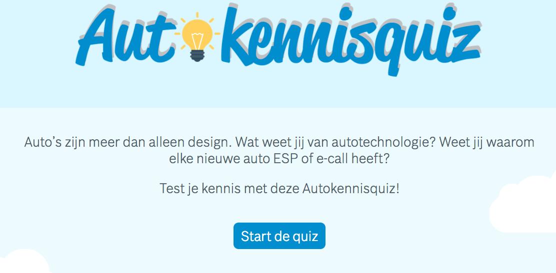 Test je kennis en doe de Autokennisquiz