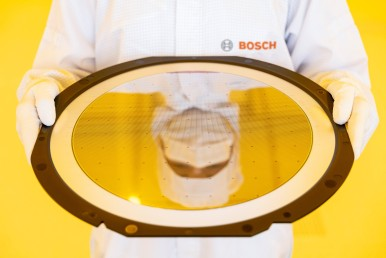 Bosch opens wafer fab of the future in Dresden